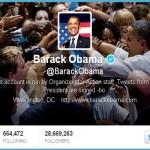 """55 بالمئة من متابعي """" اوباما """" على تويتر وهميون"""