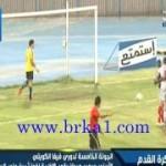 """هدف لاعب التضامن """" بدر السماك """" على حارس مرمى الفحيحيل من خلف نصف الملعب"""