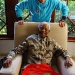 """رونالدو لـ """"مانديلا"""": ستظل دائماً معنا"""