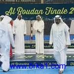 الشيخ احمد الفهد يستأذن قبل وصول بدر ناصر الخرافي لتكريمه بدورة الروضان35
