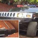 ملياردير نيجيري يدفن والدته في سيارة همر بدلاً من التابوت !
