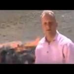 ماذا حدث لمذيع BBC أثناء حرق الحشيش؟