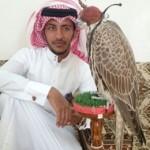 سعودي يبيع صقراً على قطري بمبلغ 610 آلاف ريال