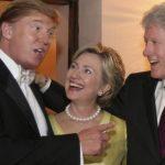 ترامب: هيلاري كلينتون لا تخلص لزوجها ومجنونة .. يجب أن تدخل السجن