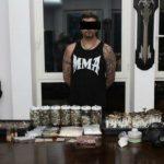 المباحث الجنائية ضبطت كندياً حول مسكنه وكراً لزراعة المواد المخدرة