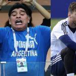 مارادونا: ميسي لا يصلح أن يكون قائد وهو يذهب لدورة المياه 20 مرة قبل المباراة